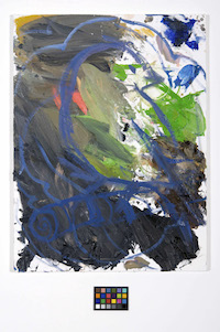 04_Ann Craven, Untitled (Night Wave #2, March 2011), 2011, 24 x 18 in_JPEG
