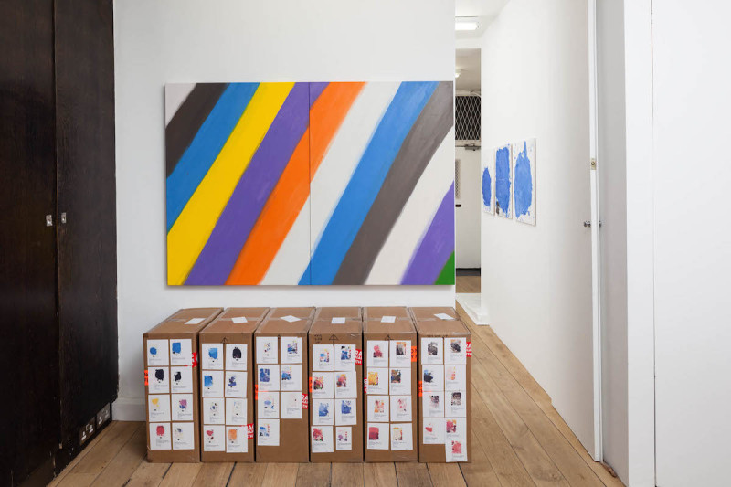 CRAVEN_Untitled (Palettes - Naked, Tagged), 2013-14_2015_Installation View_10