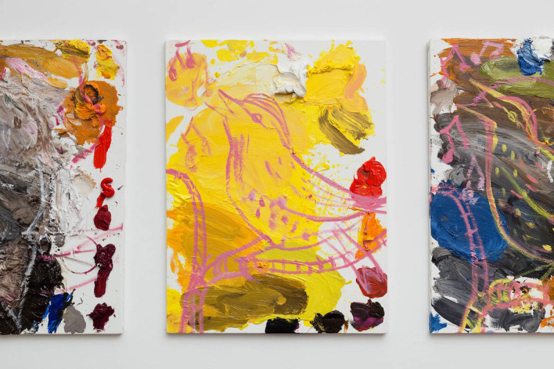 CRAVEN_Untitled (Palettes - Naked, Tagged), 2013-14_2015_Installation View_19