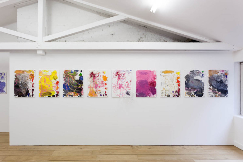 CRAVEN_Untitled (Palettes - Naked, Tagged), 2013-14_2015_Installation View_20