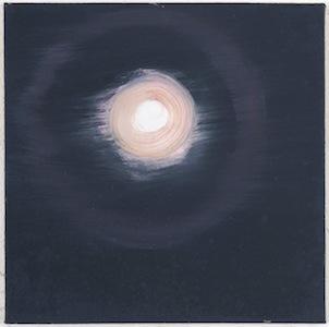 Ann Craven, 009_Moon (White St, 1-08-12, 10PM), 2012, 14 x 14 in_JPEG