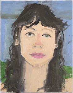 Ann Craven, 12_Portrait of Amy (8-20-12), 2012, 14 x 11 in_JPEG