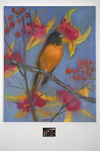 Ann Craven, 13_A Robin Singing, 2011, 30 x 24 in_JPEG